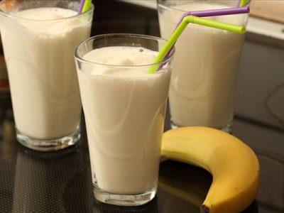 Banan-milkshake